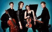 Das Notos Quartett. Bild: PD