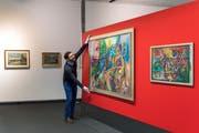 Das Werk von Serge Brignoni wird im Hans Erni Museum im Verkehrshaus ausgestellt. (Bild: Eveline Beerkircher, Luzern, 29. Oktober 2019)