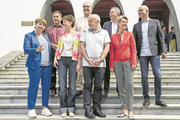 Der aktuelle Bundesrat samt Bundeskanzler: Wie wird er künftig zusammengesetzt sein? (Bild: Alexandra Wey/Keystone, Schwyz, 4. Juli 2019)
