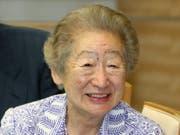 Die langjährige Uno Hochkommissarin für Flüchtlinge Sadako Ogata im Jahr 2012. (Bild: KEYSTONE/EPA JIJI PRESS)