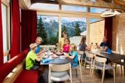Das umgebaute Bergrestaurant Ristis. (Bild: PD)