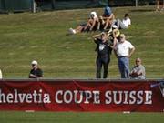 Bavois feiert im Cup eine Premiere (Bild: KEYSTONE/SALVATORE DI NOLFI)