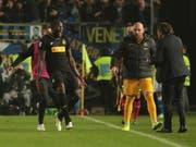 Romelu Lukaku freut sich über einen weiteren Treffer in dieser Saison (Bild: KEYSTONE/EPA ANSA/FILIPPO VENEZIA)