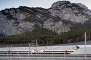 Mit der Eröffnung des Gotthard-Basistunnels wurden im Kanton Uri Landflächen frei, welche für die Landwirtschaft genutzt werden können. (Bild Gaetan Bally/Keystone)