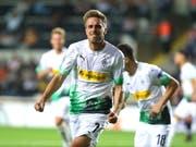 Patrick Herrmann bewahrt Borussia Mönchengladbach in der Europa League vor der zweiten Niederlage (Bild: KEYSTONE/EPA/STR)