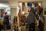 Im und rund ums Kapuzinerkloster Appenzell präsentieren Kleinproduzenten ihre Handwerkskunst und Esswaren. (Bild: PD)