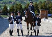 Ein Teil der erfolgreichen Werdenbergerinnen: Marina Dutler (von links), Renate Berner, Cornelia Besmer und Barbara Michel. (Bild: PD)