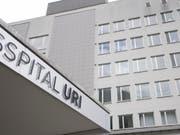 Grossinvestitionen wie der Spitalneubau belasten das Urner Budget 2020. (Bild: KEYSTONE/URS FLUEELER)
