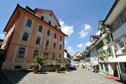 Das Bischofszeller Rathaus in der Marktgasse ist als Standort für ein lokales Gemeinschaftsbüro im Gespräch. (Bild: Reto Martin)