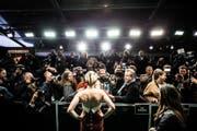 Kristen Stewart stellt sich am Zurich Film Festival den Fotografen und Reportern. Bild: Vittorio Flacco/MooH Photos/ZFF