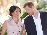 Wehrt sich gegen kritische Berichte britischer Boulevardmedien: Herzogin Meghan, Ehefrau von Prinz Harry und frühere TV-Schauspielerin. (Bild: KEYSTONE/EPA/FACUNDO ARRIZABALAGA)