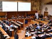 Die SVP kritisiert den Auslandschweizerrat und die dahinterstehende Auslandschweizer-Organisation. (Bild: KEYSTONE/ANTHONY ANEX)