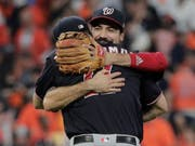 Die Washington Nationals träumen vom ersten Sieg in den World Series (Bild: KEYSTONE/AP/DAVID J. PHILLIP)