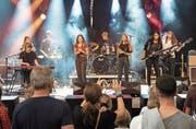 Fusion Blue hat bereits mehrere erfolgreiche Auftritte erlebt. Wie hier an den Jazztagen in Lichtensteig. (Bild: Sascha Erni)