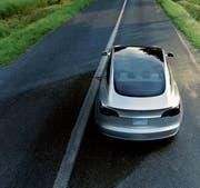 Der Tesla Model 3 gehört zu den meist verkauften Elektroautos der Schweiz. (Bild: PD)