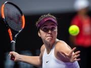 Die Titelverteidigerin Jelina Switolina steht vorzeitig in den Halbfinals (Bild: KEYSTONE/EPA/ALEX PLAVEVSKI)