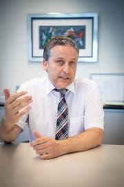 Dominik Gemperli, Gemeindepräsident von Goldach. (Bild: Ralph Ribi)