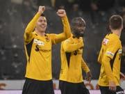 Die Young Boys bieten ihren Fans gegen den FC Zürich wieder einmal eine Gala (Bild: KEYSTONE/ALESSANDRO DELLA VALLE)