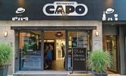 Viel Amore: Essen im «Capo» ist mit Freunden ein schönes Erlebnis. Bild: Marc Gilgen