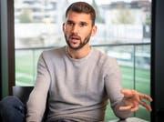 Philipp Muntwiler: «In einem gewissen Fussballeralter weiss man einen familiären Club zu schätzen.»Bild: Ralph Ribi (Wil, 31. Oktober 2019)
