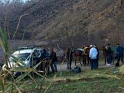 Die beiden Rucksack-Touristinnen aus Skandinavien wurden im Dezember beim Zelten im Atlas-Gebirge im Nationalpark Toubkal südlich von Marrakesch ermordet. (Bild: KEYSTONE/AP 2M)