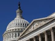 Ort der Entscheidung: Capitol of Washington, das Parlament der USA. (Bild: KEYSTONE/AP/ALEX BRANDON)