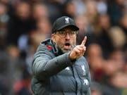 Liverpools Trainer Jürgen Klopp warnt vor einem Termin-Chaos (Bild: KEYSTONE/EPA/PETER POWELL)