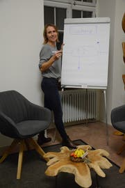 Martina Züger-Erhard aus Niederbüren wird die erste Nutzerin des Gemeinschaftsbüros im Rathaus sein. (Bild: Georg Stelzner)