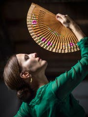 Flamencotänzerin Bettina Castaño ist im Appenzellerland und Südspanien zu Hause. (Bild: Michel Canonica)