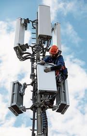 Zwei neue Mobilfunkantennen werden wohl demnächst auf gemeindeeigenen Liegenschaften in Walzenhausen errichtet. Baugesuche wurden noch nicht eingereicht. (Bild: Peter Klaunzer)