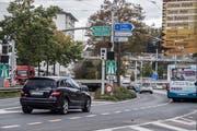 Der Kasernenplatz in Luzern – ein «städtebaulich ungelöstes Problem». (Bild: Nadia Schärli, Luzern, 30. September 2019)