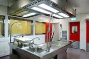 Universitätsspital Genf: Hier werden Autopsien durchgeführt. Bild: Keystone