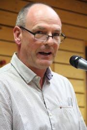 Gemeindevizepräsident Josef Zgraggen. (Bild: Paul Gwerder, Erstfeld, 5. Oktober 2019)