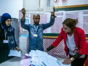 Wahltag in Tunis - bloss kamen nicht allzu viele. (Bild: KEYSTONE/AP/RIADH DRIDI)