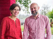 Sabine und Thomas Staroszynski, Kunsttherapeuten. (Bild: Sascha Erni