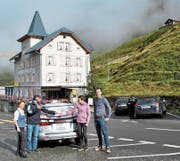 Per 20. Oktober geben Hanspeter Kaufmann und Cécile Zemp das Hotel ab. (Bild: PD)