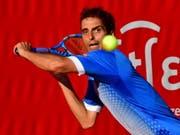 Albert Ramos-Viñolas wird in Schanghai Roger Federer fordern (Bild: KEYSTONE/EPA PAP/MARCIN BIELECKI)