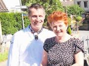 Christian und Marianne Birchmeier wirten seit 22 Jahren im Restaurant Mühle in Oberschan, das als einziges im Werdenberg Punkte von Gault Millau erhalten hat. (Bild: Heidy Beyeler)