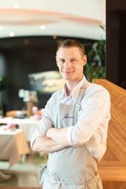 «Mich kann man auch mit Hörnli und Gehacktem glücklich machen»: Shootingstar Patrick Mahler vom Restaurant Focus im Park-Hotel Vitznau. Bild: «Gault-Millau»