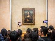 Leonardo da Vincis «Mona Lisa» ist im Louvre wieder zu besichtigen. (Bild: Keystone/EPA/CHRISTOPHE PETIT TESSON)