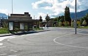 Hier am Bahnhof Buchs-Nord könnte ein Fernbusunternehmen seine Haltestelle einrichten.Bild: Thomas Schwizer