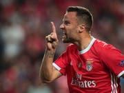 Schweizer Fussballer des Jahres: Haris Seferovic steuerte 23 Tore zum Meistertitel mit Benfica Lissabon bei (Bild: KEYSTONE/EPA LUSA/ANTONIO COTRIM)