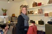 Sina Forrer in ihrem Ladenlokal an der Frauenfelderstrasse. (Bild: Mario Testa)