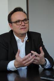 Regierungsrat und Baudirektor Roger Nager