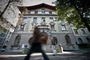 Der Stadtrat unterstützt Frauen in krisengeschüttelten Länder. (Bild: Boris Bürgisser, Luzern, 14. Oktober 2014)