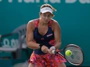 Stefanie Vögele konnte auch in Linz ihre Niederlagen-Serie nicht stoppen (Bild: KEYSTONE/AP/LEE JIN-MAN)