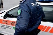 Die St.Galler Kantonspolizei konnte nur noch den Tod des Vermissten 20-Jährigen feststelle. (Bild: Keystone)