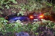 Die beiden Unfallautos. (Bild: Luzerner Polizei, 7. Oktober 2019)