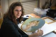 Sara Allemann arbeitet in ihrem Traumjob. (Bilder: Michel Canonica)