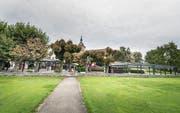 Der Heimatschutz und die Eidgenössische Natur- und Heimatschutzkommission wollen, dass beide Pavillons rückgebaut werden. (Bild: Andrea Stalder)